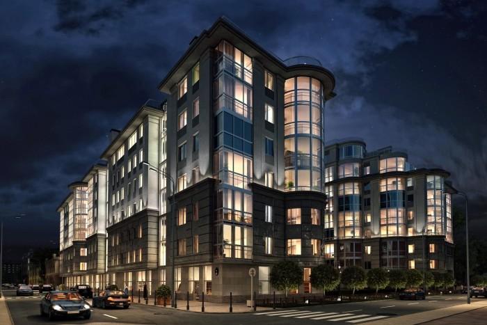На рынке недвижимости Санкт-Петербурга увеличивается объем элитного жилья