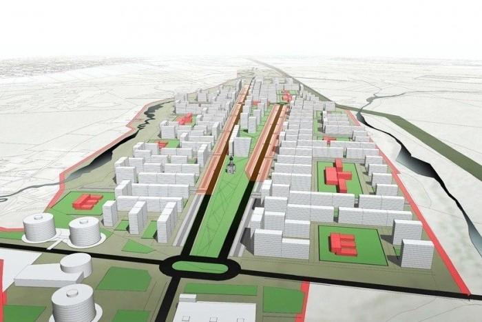 """На территории бывшего аэропорта """"Ржевка"""" появится жилой микрорайон"""