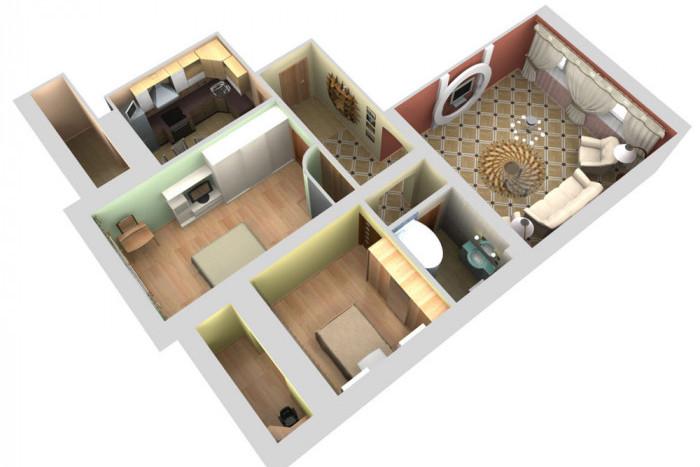 Разные планировки квартир
