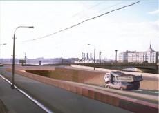 Состоялось открытие дорожной развязки на Пироговской набережной
