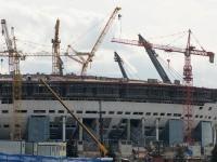 """Стадион """"Зенит"""" готов более, чем на 70%"""