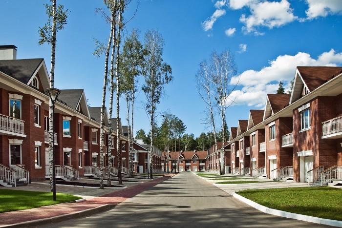 Таунхаусы могут составить конкуренцию многоквартирным загородным домам