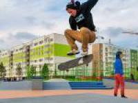 "В комплексе ""Янила-Кантри"" открылся скейт-парк"