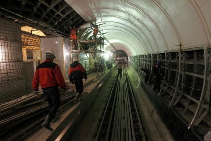 В начале 2018 года могут одновременно открыться 3 станции Фрунзенского радиуса