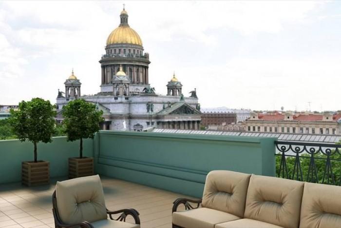 В Петербурге продается 449 видовых квартир и апартаментов