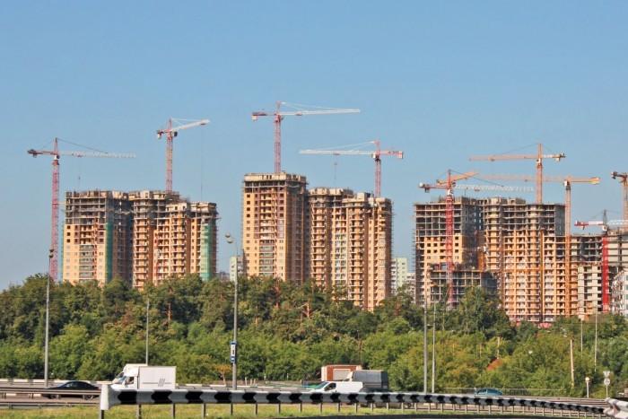 В Петербурге увеличились объемы строительства жилья на 53%