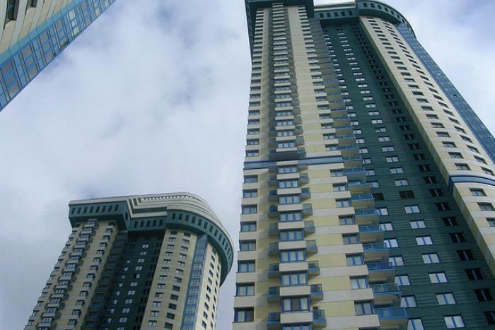 В Петербурге введено в эксплуатацию на 14% больше жилья, чем годом ранее