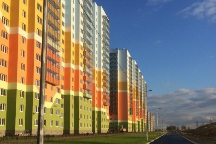 """В ЖК """"Новая Охта"""" сдано три дома для очередников"""