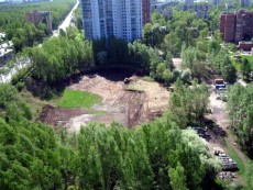 Велотрек на проспекте Тореза снова собираются застроить жильем