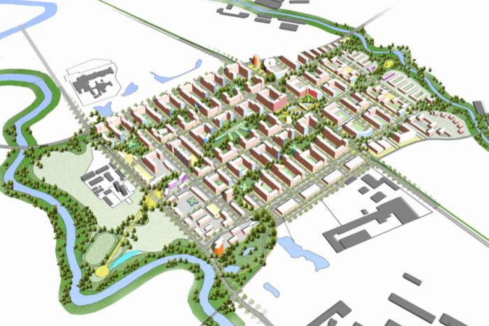 Выдано разрешение на строительство трех домов в районе Красный Кирпичник