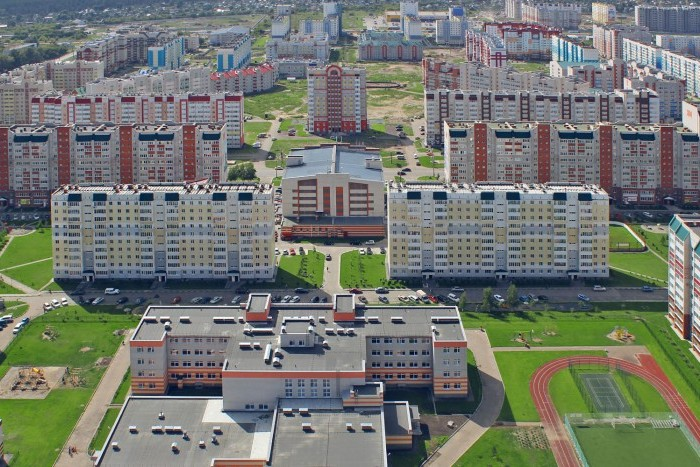 За полгода в Санкт-Петербурге построили более 1.5 млн. квадратов жилья