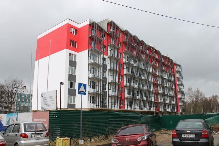 """ЖК """"Брусничный"""": три монолитных дома в Янино"""