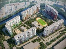 Квартира в ЖК «ЗимаЛето» за 15 000 рублей в месяц