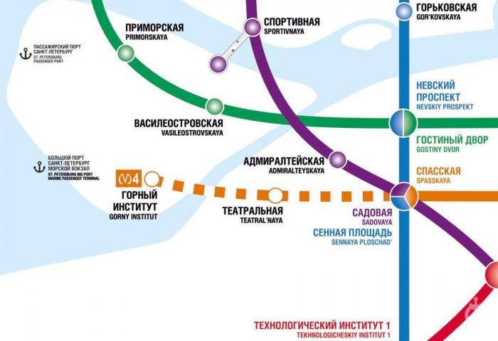 """Открытие станции """"Горный институт"""" перенесли на год - Фото 1"""