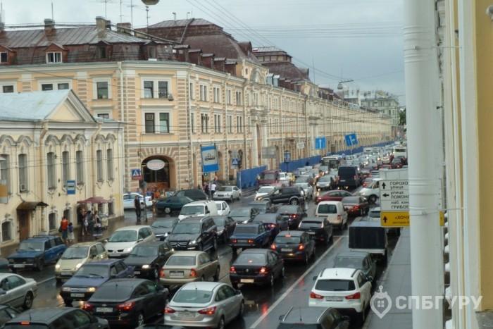 Самые загруженные (пробки) районы Санкт-Петербурга - Фото 1