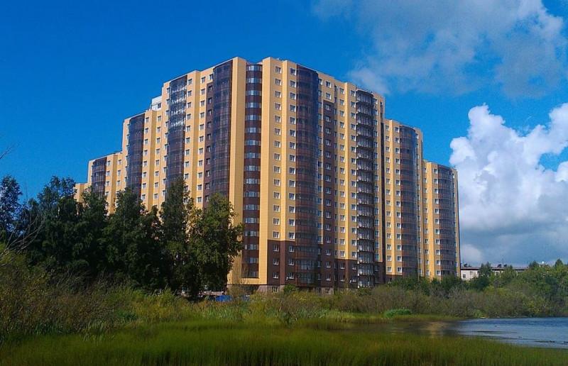 Квартиры в Дом у озера в СПБ, Колпинский район