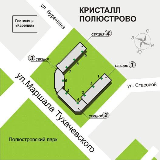 """ЖК """"Кристалл Полюстрово"""" - фото 5"""