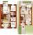 """Планировка двухкомнатной квартиры площадью 112.17 кв. м в новостройке ЖК """"Близкое"""""""