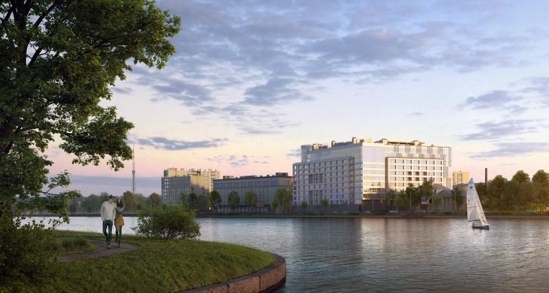 Квартиры в Дом на Грота, 1-3 в СПБ, Петроградский район, метро Петроградская