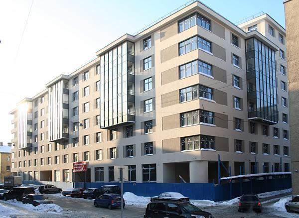 Квартиры в Дом на улице Егорова 25 в СПБ, Адмиралтейский район, метро Фрунзенская