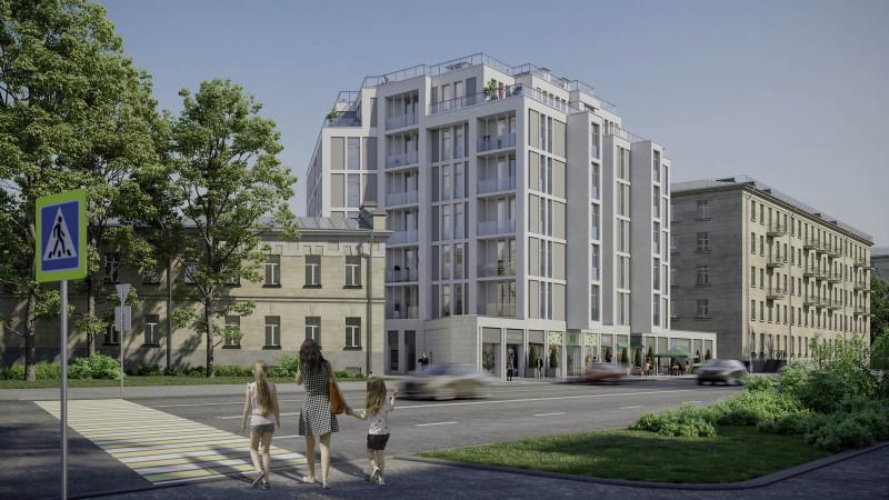 Квартиры в White.House в СПБ, Петроградский район, метро Петроградская