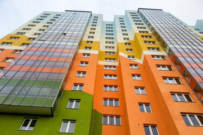 """В ЖК """"Новая Охта"""" началось заселение нового дома"""