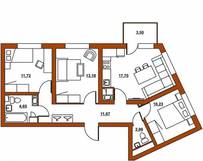 """ЖК """"Шотландия"""": симпатичные малоэтажные дома в зеленом месте со слабой инфраструктурой - Фото 29"""