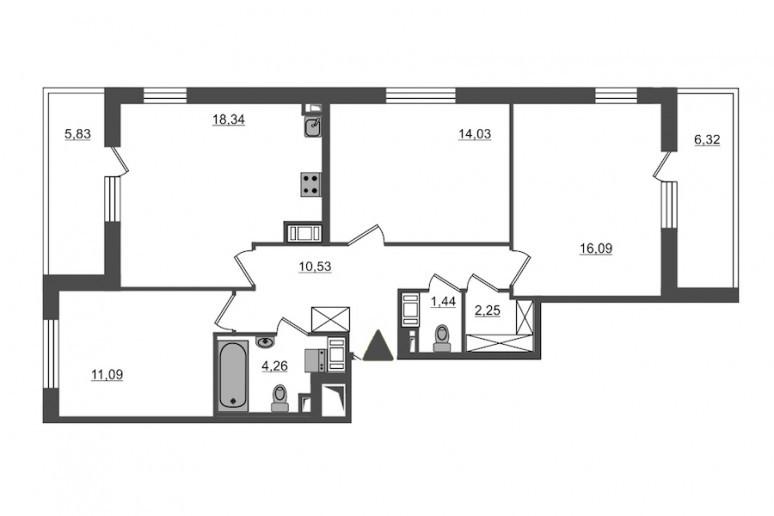 "ЖК ""PULSE на набережной"": тысячи квартир с отделкой вместо завода  - Фото 53"