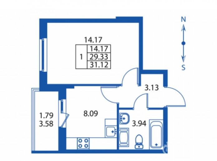 """ЖК """"Полис на Комендантском"""": маленькие квартирки в районе с большими планами - Фото 23"""
