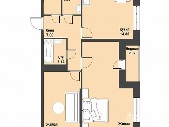 """ЖК """"Живи! В Рыбацком!"""" - недорогие квартиры с отделкой и удобной рассрочкой. - Фото 41"""