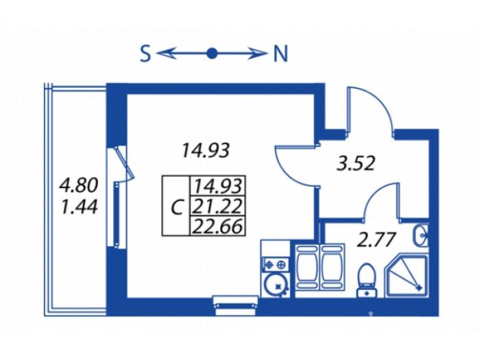 """ЖК """"Полис на Комендантском"""": маленькие квартирки в районе с большими планами - Фото 12"""
