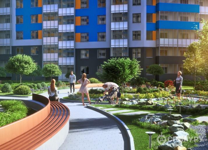 """ЖК """"Полис на Комендантском"""": маленькие квартирки в районе с большими планами - Фото 7"""