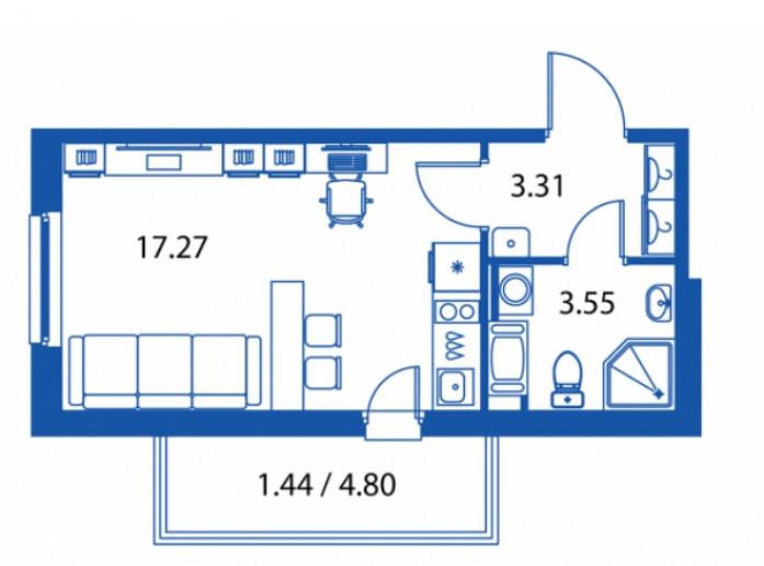 """ЖК """"Полис на Комендантском"""": маленькие квартирки в районе с большими планами - Фото 18"""