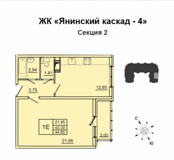 """ЖК """"Янинский каскад"""": неоднозначный проект в неоднозначном месте - Фото 22"""