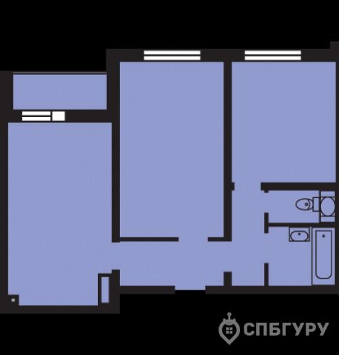 """ЖК """"Новая Охта 2"""": жилье с отделкой и городской пропиской за линией КАД - Фото 59"""