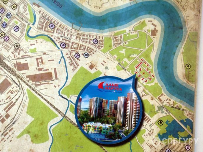 ЖК «Невские Паруса» -  стройка с видом на Неву от Setl City - Фото 1