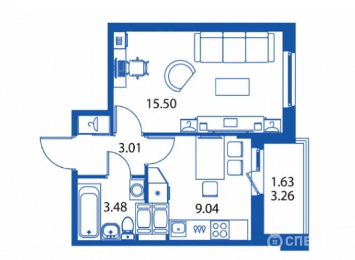 """ЖК """"Полис на Комендантском"""": маленькие квартирки в районе с большими планами - Фото 21"""