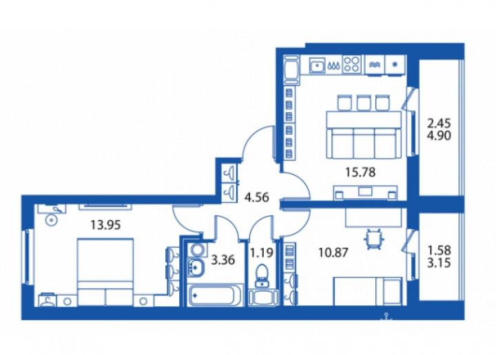 """ЖК """"Полис на Комендантском"""": маленькие квартирки в районе с большими планами - Фото 35"""