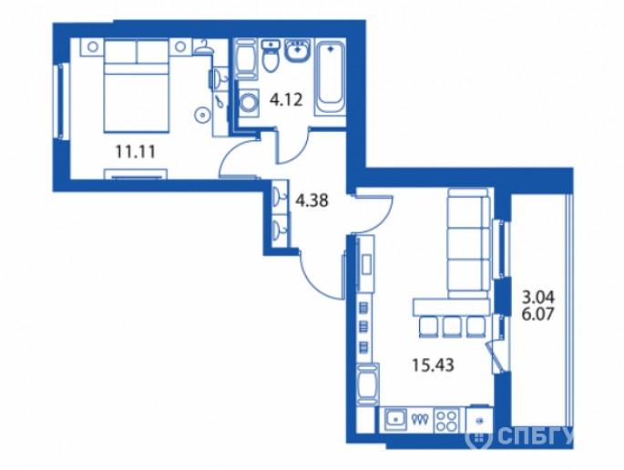 """ЖК """"Полис на Комендантском"""": маленькие квартирки в районе с большими планами - Фото 27"""