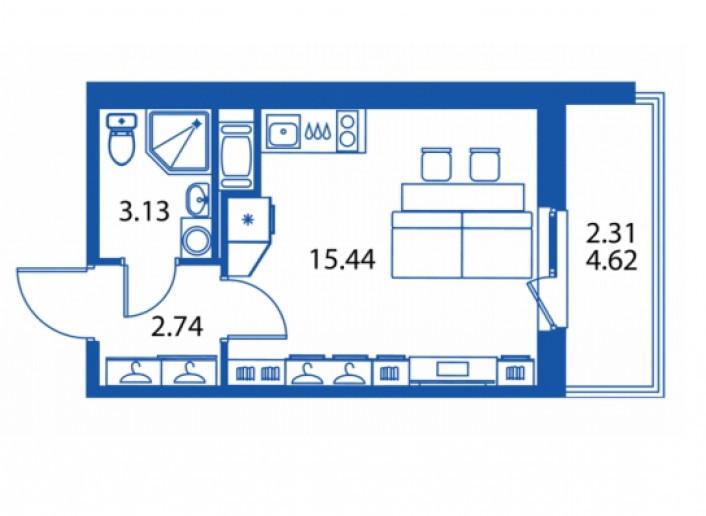 """ЖК """"Полис на Комендантском"""": маленькие квартирки в районе с большими планами - Фото 15"""