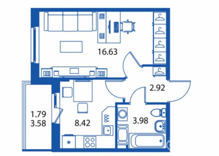 """ЖК """"Полис на Комендантском"""": маленькие квартирки в районе с большими планами - Фото 22"""