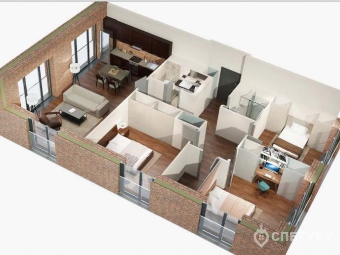 Docklands: стильные апартаменты с видом на Малую Неву - Фото 32