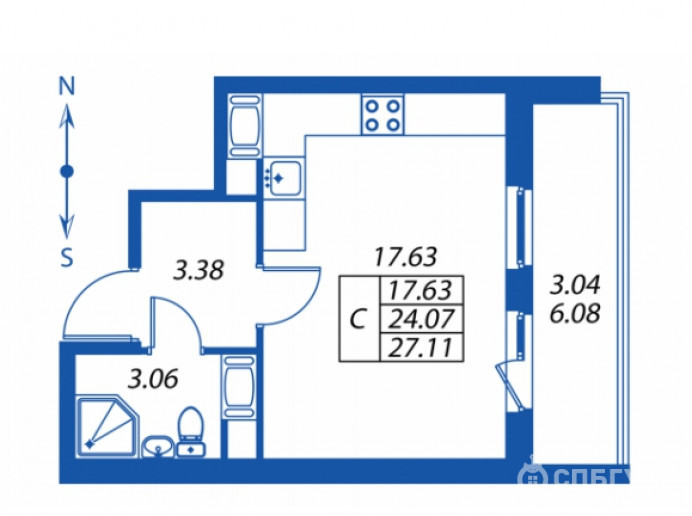 """ЖК """"Полис на Комендантском"""": маленькие квартирки в районе с большими планами - Фото 19"""