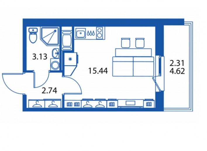 """ЖК """"Полис на Комендантском"""": маленькие квартирки в районе с большими планами - Фото 11"""