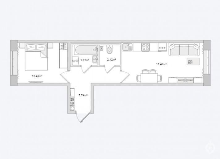 """ЖК """"ЦДС Полюстрово"""": дом размером с квартал - Фото 43"""