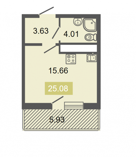 """ЖК """"Питер"""": квартиры бизнес-класса с видом на ЛЭП - Фото 13"""