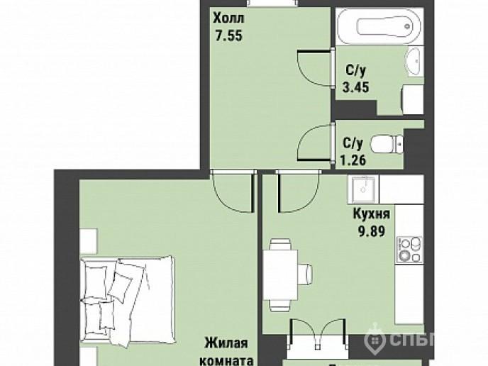 """ЖК """"Живи! В Рыбацком!"""" - недорогие квартиры с отделкой и удобной рассрочкой. - Фото 38"""