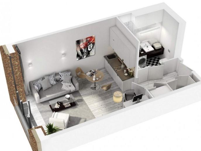 Docklands: стильные апартаменты с видом на Малую Неву - Фото 20