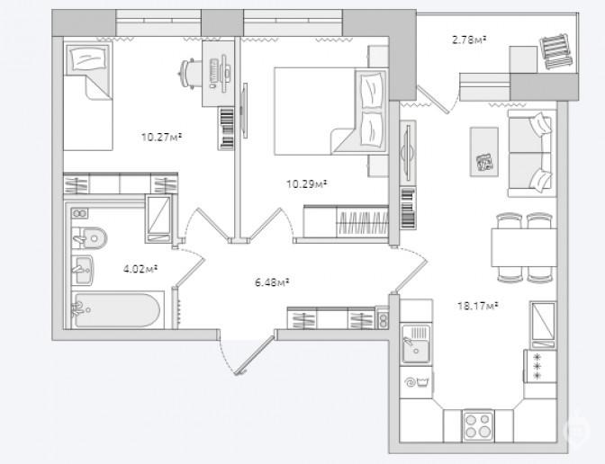 """ЖК """"ЦДС Полюстрово"""": дом размером с квартал - Фото 47"""