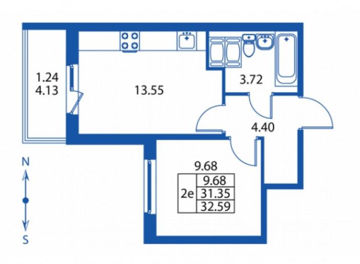 """ЖК """"Полис на Комендантском"""": маленькие квартирки в районе с большими планами - Фото 28"""